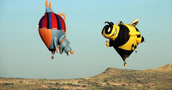 Uluslararası Kapadokya Balon Festivali'nden güzel kareler!