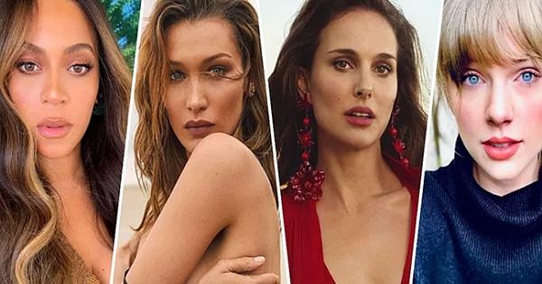 Altın oran ölçüsüne göre en güzel 10 kadın belirlendi!