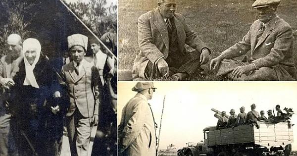 Atatürk'ün arşivlerden çıkan son fotoğrafları 23 Nisan'a özel yayınlandı!