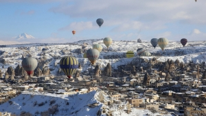 Kapadokya, İngiltere'de Günün Fotoğrafı Oldu
