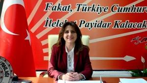 CHP İL Başkanı Özer'in İstiklal Marşı'nın Kabulü ve Mehmet Akif Ersoy'u Anma Günü Basın Açıklaması