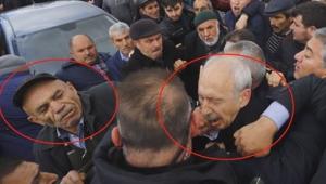 CHP lideri Kemal Kılıçdaroğlu'na Çubuk'taki şehit cenazesinde saldırı
