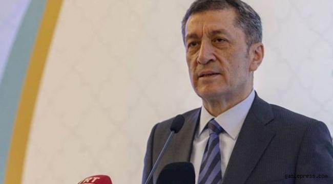 Bakan Ziya Selçuk yeni eğitim takvimini açıkladı
