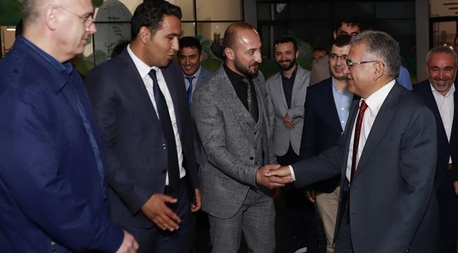 Başkan Büyükkılıç, Kayseri Ulaşım A.Ş.'nin iftarına katıldı