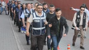 Kayseri merkezli FETÖ operasyonunda 17 şüpheli adliyede