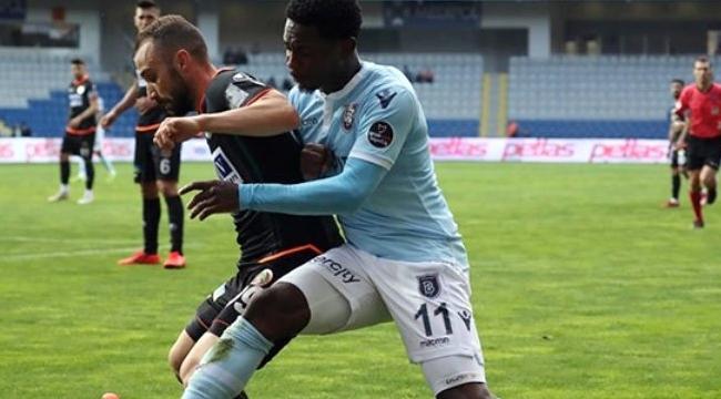 Medipol Başakşehir, Aytemiz Alanyaspor ile 1-1 Berabere Kaldı