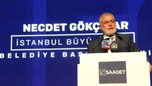 Saadet Partisi'nin İstanbul Adayı Gökçınar: Yeniden Seçim Çalışmasına Hazırım