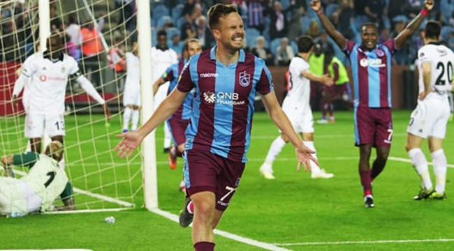 Trabzonspor Sahasında Beşiktaş'ı 2-1 Mağlup Etti
