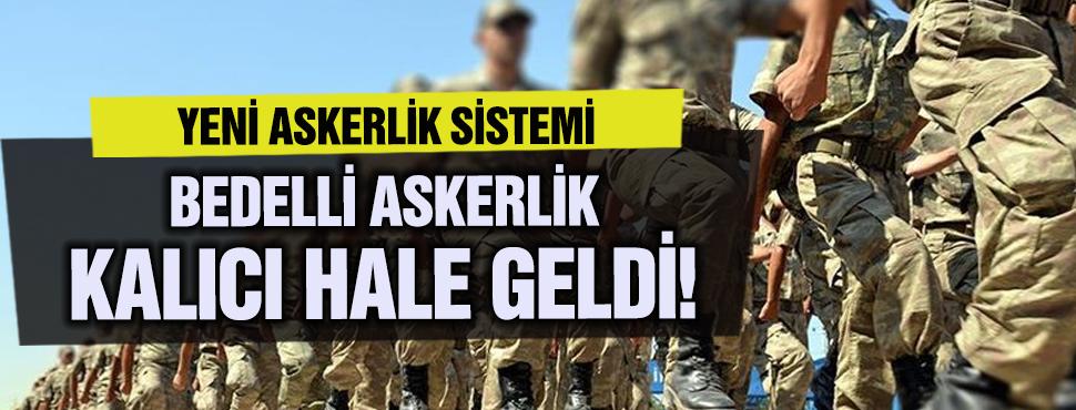 Yeni askerlik sisteminde önemli bir gelişme!
