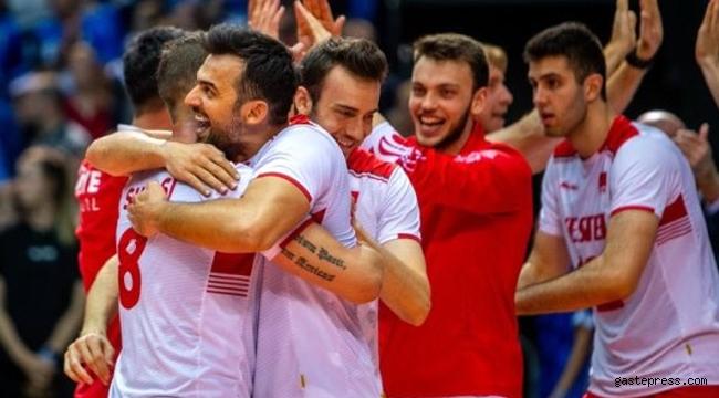 A Milli Erkek Voleybol Takımı Avrupa şampiyonu oldu