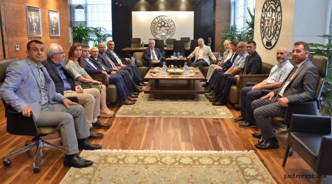 ADASO ve ATHİB'den Başkan Gülsoy'a ziyaret