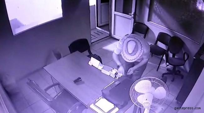 Fabrikada hırsızlık yapan şüpheli tutuklandı