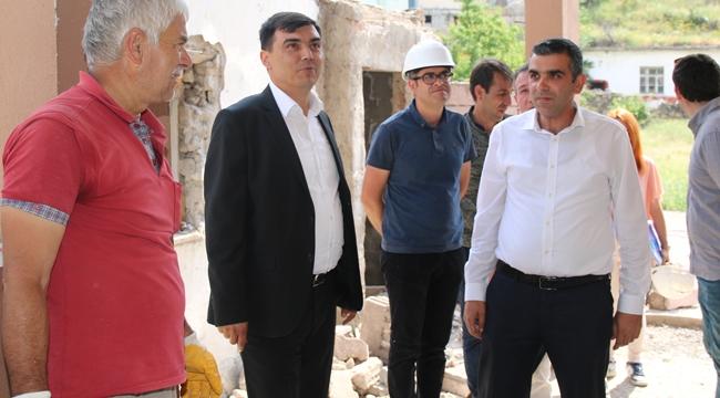 Hacılar'da Kentsel Dönüşümde 2. Etap Yıkım Çalışmaları Başladı
