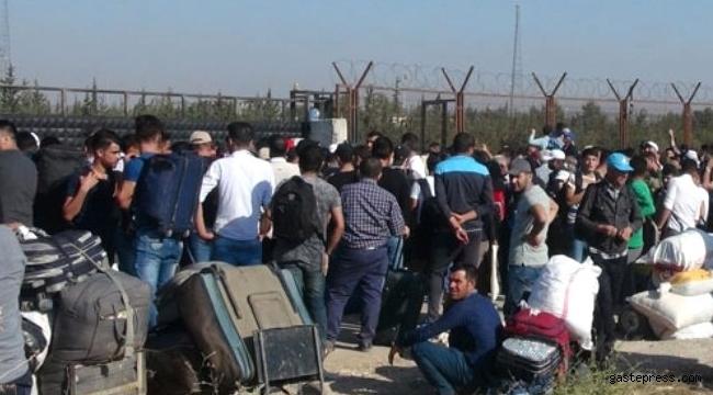 İçişleri Bakanlığı ülkesine dönen Suriyeli sayısını resmen açıkladı