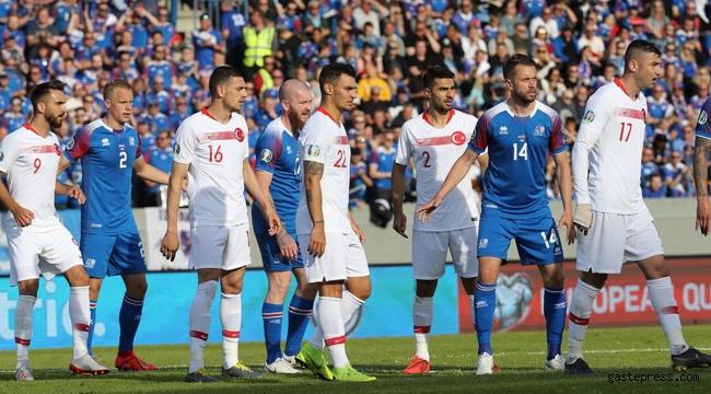 İzlanda Türkiye maçı 2-1 Sona Erdi