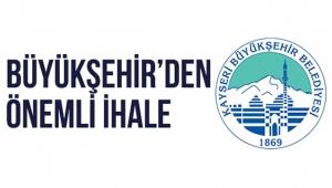 Kayseri Büyükşehir'den Kiralama İhalesi
