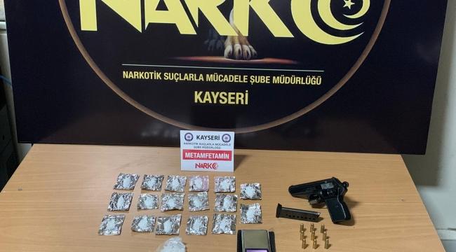 Kayseri'de 2 uyuşturucu şüphelisi yakalandı
