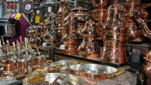 Kayseri'de mutfak gereçlerinde Bakır modası