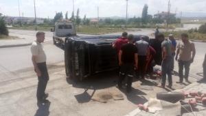 Kayseri Tomarza ilçesinde trafik kazası: 1 yaralı