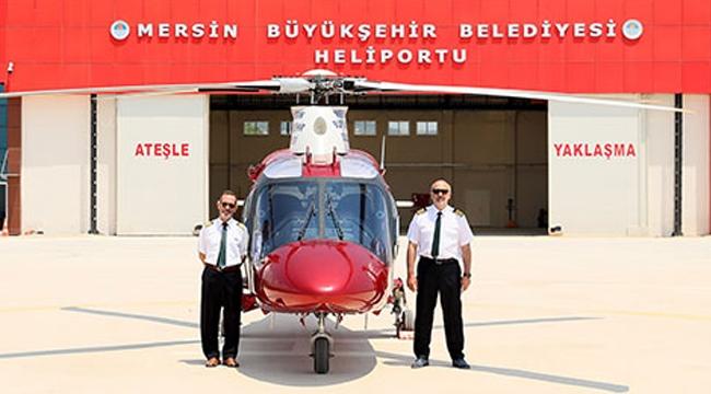 Mersin'de 'hava taksi' dönemi başladı