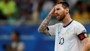 Messi ve Arjantin Copa America'ya kötü başladı