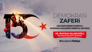 15 Temmuz'da Kayseri Meydanındayız!