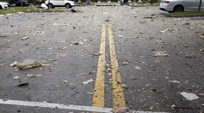 ABD'de bir AVM'de şiddetli patlama meydana geldi!