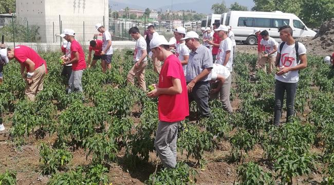 Adana Büyükşehir'den gençlere doğal yaşam terapisi!