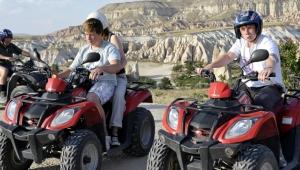 ATV ile Kapadokya turuna yoğun ilgi