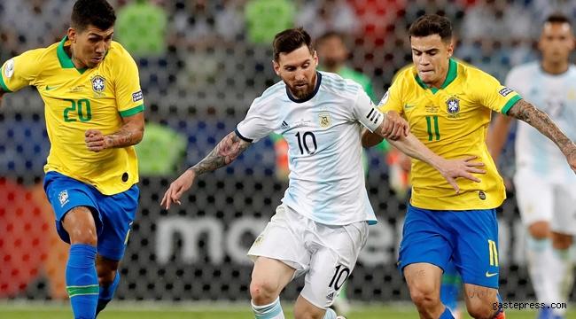 Brezilya Messi'li Arjantin'i devirerek finale kaldı