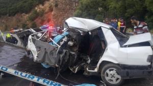 Cip ile otomobil çarpıştı: 3 ölü, 1 yaralı var!