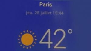 Fransa'da son 72 yılın en sıcak günü yaşanıyor!