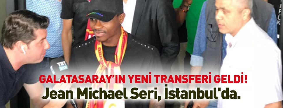Galatasaray'ın yeni transferi Seri İstanbul'a geldi!