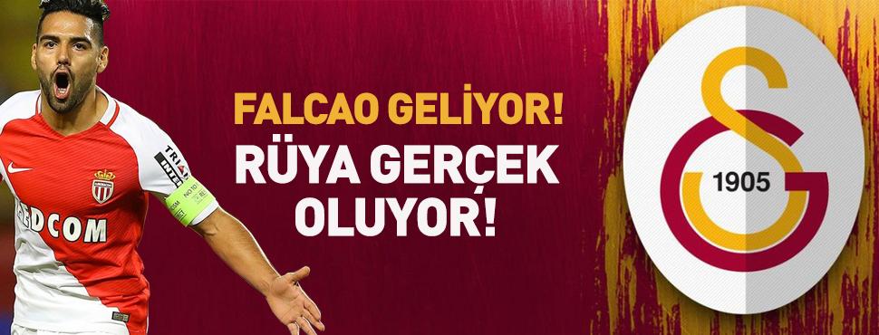 Galatasaray, Radamel Falcao ile prensipte anlaştı!
