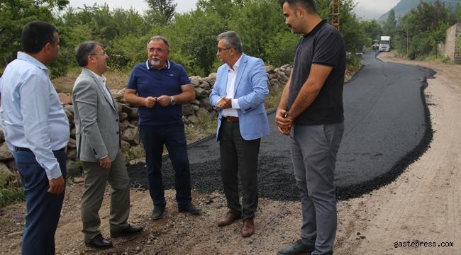 Hacılar'da Asfalt Çalışmaları Tüm Hızıyla Sürüyor!