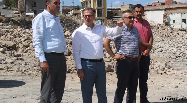 Hacılar'daki Büyük Dönüşüm'de Yeni Konutlar İçin Yıkım Tamamlandı