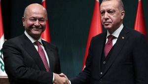 Irak Cumhurbaşkanı Salih, Cumhurbaşkanı Recep Tayyip Erdoğan'ı telefonla aradı.