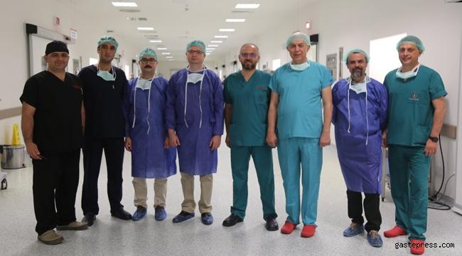 Kayseri Şehir Hastanesinde Bir İlk Gerçekleşti