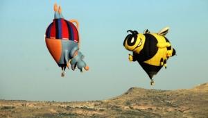 Uluslararası Kapadokya Balon Festivali'nden güzel kareler