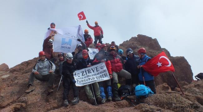 25. Sütdonduran Kampı ve Erciyes Zirve Tırmanışı Başarıyla Tamamlandı
