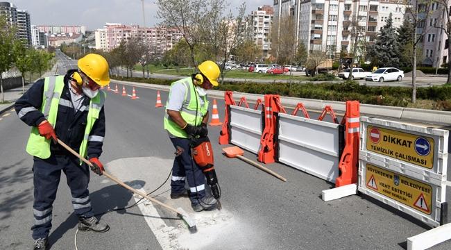Ankara'da güvenli sürüş için pürüzsüz yollar!