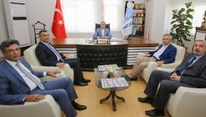 Kayseri Sanayi Odası Yönetimi Hacılar'da...