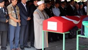 Kazada hayatını kaybeden uzman çavuş Kayseri'de toprağa verildi