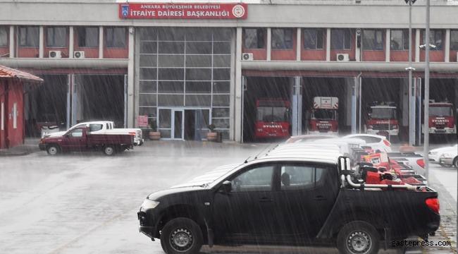 Şiddetli Yağış İhtimali Olduğu için Ankara Büyükşehir'de AKOM Teyakkuzda!