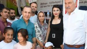 Adana'da Akkapı, Gülbahçesi ve Dağlıoğlu'na 23 Km'lik kanalizasyon şebekesi!