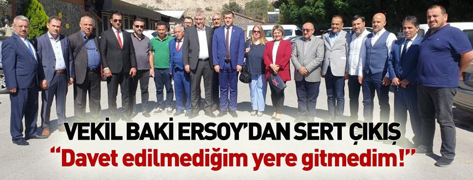 Baki Ersoy'dan davet edilmediği Kayserispor Zirvesi için sert tepki!