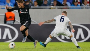 Beşiktaş UEFA Avrupa Ligi maçında uzatmalarda havlu attı!