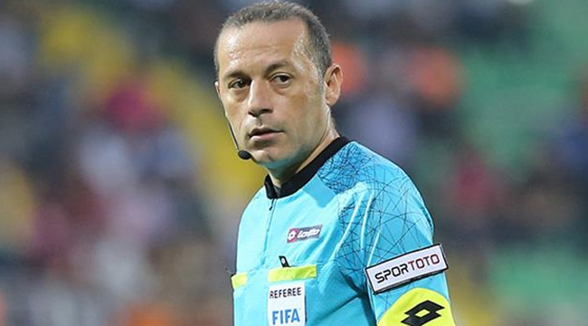 Cüneyt Çakır'a UEFA'dan dev görev!