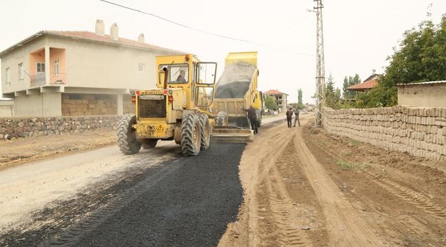 Develi Sindelhöyük Mahallesinde Yol Çalışmaları devam ediyor!