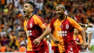 Galatasaray Kasımpaşa'yı yıldızı Falcao ile geçti!